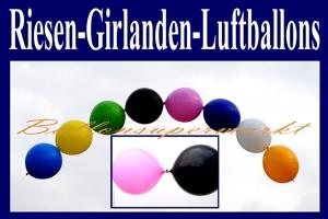 Luftballons, Riesen-Kettenballons