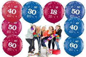 Riesen-Luftballons mit Zahlen