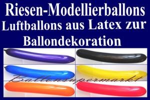Luftballons, Riesen-Modellierballons