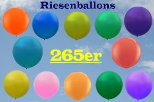 Riesenballons Latex Rund 265 cm