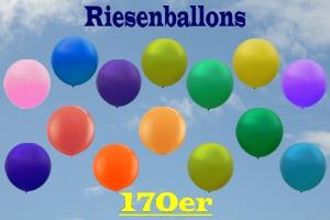 Riesenballons 170er, riesige Luftballons Ø 60 cm