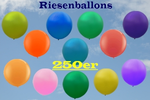 Riesenballons Rund 250 cm