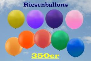 Riesenballons 350er, riesige Luftballons Ø 117 cm