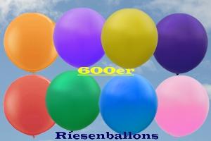 Riesenballons 600er, riesige Luftballons Ø 200 cm