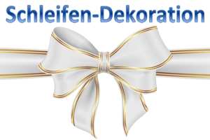Deko Zierschleifen