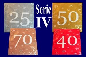 Geburtstag Servietten Serie 4