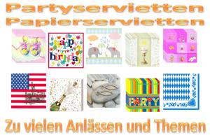 Party-Servietten