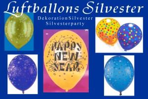 Silvester Luftballons