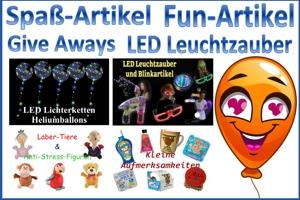 Spaß & Fun, Give Aways, LED-Zauber