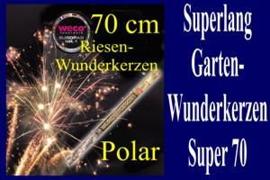 Super 70 Wunderkerzen
