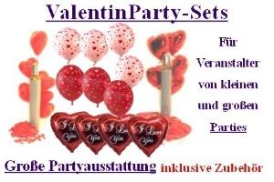 Valentin Party-Sets
