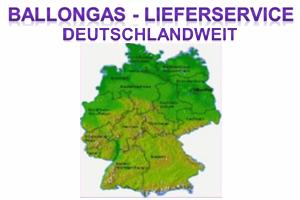 Ballongas Deutschland Lieferservice