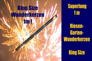 Wunderkerzen King Size 1 m