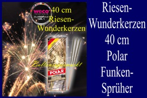 Wunderkerzen Maxi 40 cm