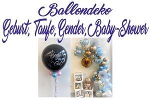 Deko-Bouquets Geburt, Taufe, Gender, Baby Shower