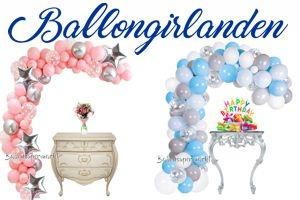 Ballongirlanden zum Abholen