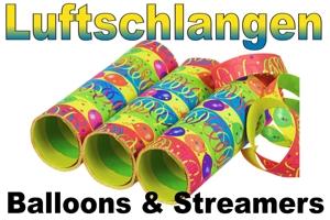 Luftschlangen Balloons & Streamers