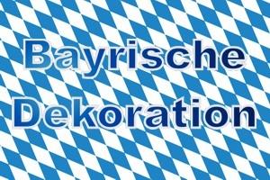 Dekoration Bayrische Rauten