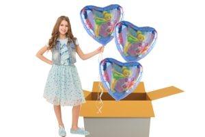 Folienballons zum Kindergeburtstag (Kleiner Karton)