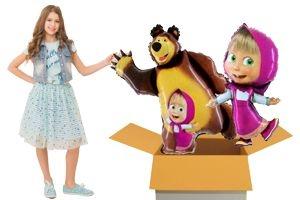 Folienballons zum Kindergeburtstag (Mittlerer Karton)