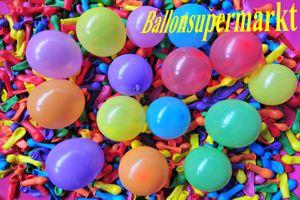 Kleine Luftballons, Rundform, 8 cm