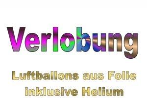 Verlobung Luftballons