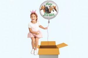Luftballons Geburtstag für Kinder