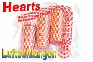 Luftschlangen Hearts