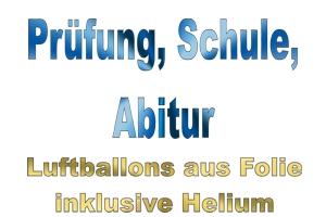 Prüfung, Schule, Abitur Luftballons