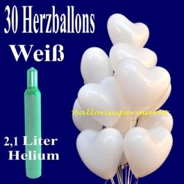 ballons-helium-set-hochzeit-30-weisse-herzluftballons-2,1-liter-helium-zur-hochzeit