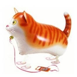Airwalker, Laufende Tiere, Getigerte Katze ohne Helium