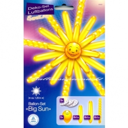 Ballon-Set Sonne, Big Sun