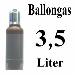 Ballongas Helium 3,5 Liter Mehrwegflasche