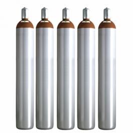 Ballongas 50 Liter, 5 Ballongasflaschen NRW Lieferung