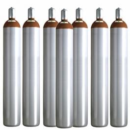Ballongas 50 Liter, 7 Ballongasflaschen NRW Lieferung