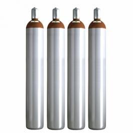 Ballongas Service Großraum NRW Deutschland 4 Ballongasflaschen 50 Liter, 99,996 reines Helium