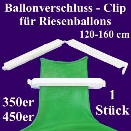Ballonverschluss, Clip, Fixverschluss für Riesenballons 350er und 450er