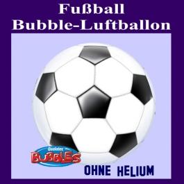 Bubble Luftballon Fußball, ohne Helium