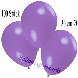 Deko-Luftballons Lavendel, 100 Stück