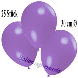 Deko-Luftballons Lavendel, 25 Stück