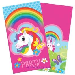 Einhorn  Einladungskarten zum Kindergeburtstag