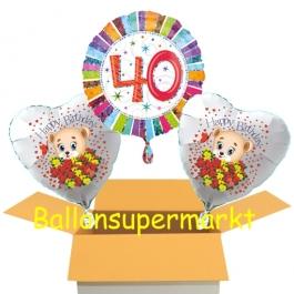 Luftballons aus Folie zum 30. Geburtstag