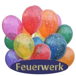 Feuerwerk Luftballons