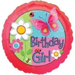 Birthday Girl, Luftballon zum Kindergeburtstag