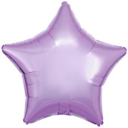 """Sternballon aus Folie, Flieder, 18"""""""