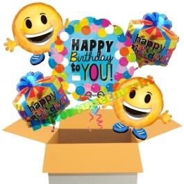 5 Stück Luftballons zum Geburtstag, Happy Birthday to You