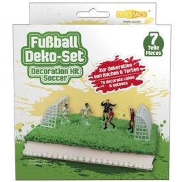 Torten Dekorations Set Fussball, Kuchendekoration