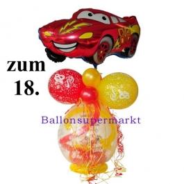 Geschenkballon zum 18. Geburtstag, Auto