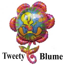 Großer Luftballon aus Folie: Tweety Blume