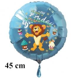 Happy Birthday Löwe Kindergeburtstag Luftballon mit Helium